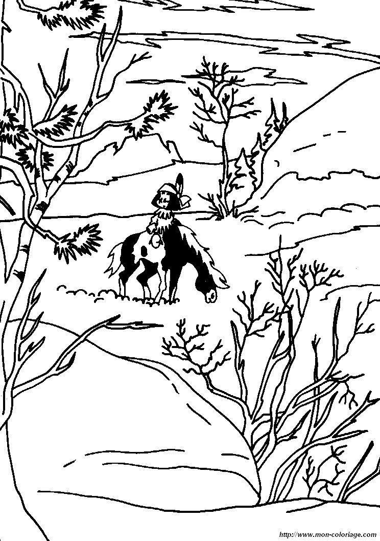 coloriage de yakari dessin coloriages yakari à colorier